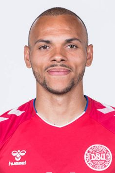Martin Braithwaite of Denmark poses during official FIFA World Cup 2018 portrait session on June 12 2018 in Anapa Russia Fifa World Cup 2018, International Football, National Football Teams, Garra, Poses, Danish, Russia, June, Denmark