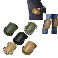 4 Pcs Tactical Sports Knee Elbow Protective Pads  Worldwide delivery. Original best quality product for 70% of it's real price. Buying this product is extra profitable, because we have good production source. 1 day products dispatch from warehouse. Fast & reliable shipment (7-25...