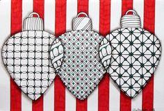 zentangle christmas cards | Zentangle Inspired Christmas Card by ... | Zentangle Animals