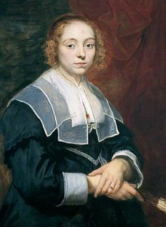 """Portrait of a Young Girl"", Cornelis de Vos, ca. 1643; YMT YORAG : 840"