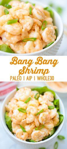 Bang Bang Shrimp (Paleo, Whole30, AIP) - Unbound Wellness