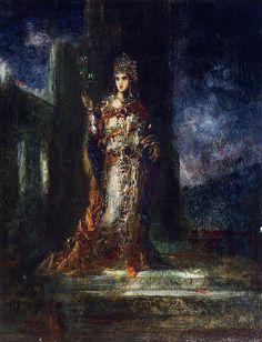 La fiancée de la nuit,  Gustave Moreau