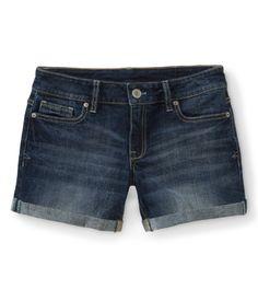 8608a1b9b43c Dark Wash Denim Boyfriend Shorts from Aéropostale Boyfriend Shorts
