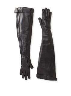 61% OFF Ann Demeulemeester Women\'s Zip Gloves (Black)