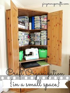 I would love to do this with all of my crafting and sewing supplies!