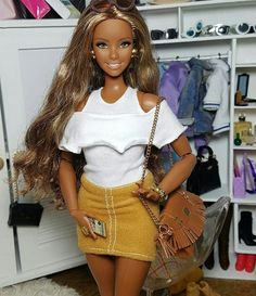 Barbie Dress, Barbie Clothes, Barbie Stuff, Diva Dolls, Dolls Dolls, Barbie Tumblr, Barbie And Ken, Girl Barbie, Barbies Pics
