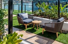 In the heart of Brisbane's young and vibrant Newstead district – a hub for boutiques, restaurants and bars – the Haven apartment building has all the design credentials of a boutique hotel and features key pieces of Tribù's relaxed luxury outdoor furniture. #furnituredesign #luxuryhotel #outdoordesign