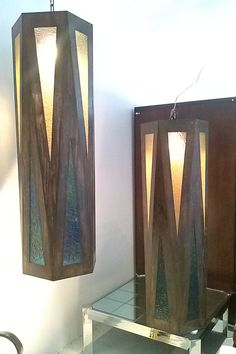 Pair of Mid Century Modern Monumental Light by Floridamodern33405, $2400.00