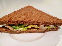 Sandwich med Barbecuekylling