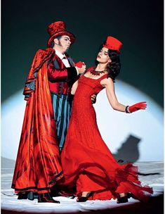 Crystal Renn & Alana Zimmer are Star Performers in Vogue Russia January 2012 #Circus #Fashion