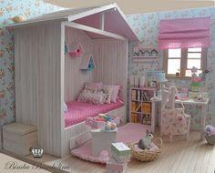 Miniature - OOAK Diorama Shabby Cottage 1   Flickr - Photo Sharing!