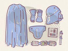 "James Oconnell on Twitter: ""Dress like Darth ~ https://t.co/T0SwPtQNtE @HYPEBEAST #illustration http://t.co/N2uQ8rZRmz"""