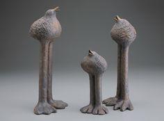Sharon Stelter 3 Long Leg Birds
