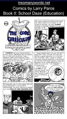 Book 2. Column 4. Educational Comics by Larry Paros
