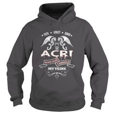 ACRI BLOOD RUNS THROUGH MY VEINS - TSHIRT for ACRI #gift #ideas #Popular #Everything #Videos #Shop #Animals #pets #Architecture #Art #Cars #motorcycles #Celebrities #DIY #crafts #Design #Education #Entertainment #Food #drink #Gardening #Geek #Hair #beauty #Health #fitness #History #Holidays #events #Home decor #Humor #Illustrations #posters #Kids #parenting #Men #Outdoors #Photography #Products #Quotes #Science #nature #Sports #Tattoos #Technology #Travel #Weddings #Women