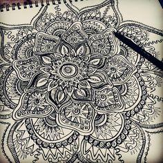 Картинка с тегом «mandala, art, and drawing»
