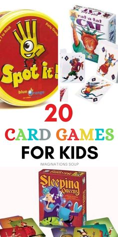 20 Best Card Games for Kids | Imagination Soup Writing Lesson Plans, Writing Lessons, Writing Activities, Writing Ideas, Activities For Kids, Fun Card Games, Card Games For Kids, Learning Games For Kids, Family Game Night
