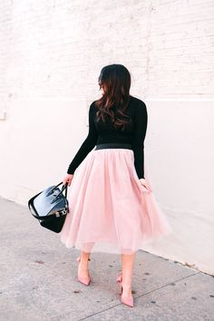 Perfect Pink Tulle