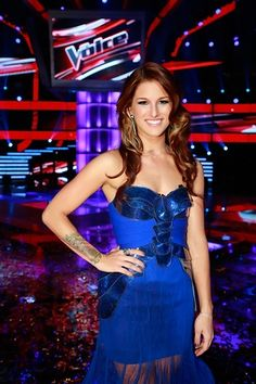 the voice queen....I was with her all the way. great job girl!!!:)