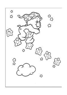 Disegni da colorare Gli orsetti del cuore 9
