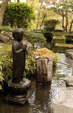 1000 images about jardins japonais animes on pinterest - Bouddha jardin zen ...