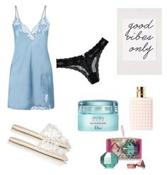 """Untitled #30"" by fra1 on Polyvore featuring Fleur du Mal, Urban Outfitters, Christian Dior, Valentino, Lipsy and Balenciaga"