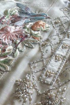 Farah Talib Aziz - embroidery detail