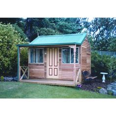 Settlers Hut 3.6m x 2.6m x 3m Timber Shed with 2 Windows | Cheap Sheds
