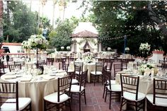 Classic white Rancho Las Lomas wedding {taylor and jeff} » Flower Allie – Orange County Wedding Florist and Delivery for all Occasions