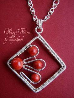 Wiggly Wires Jewelry - (inspiration only) other designs shown