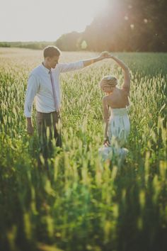 Bride and groom dancing photo. This would be beautiful in our venue's field. :)
