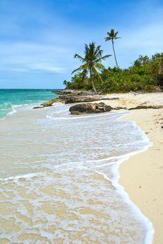 Saona Island, Dominican Republic - A protected nature reserve and part of the Parque Nacional del Este