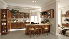 Cucina classica LUBE - modello Veronica #madeinitaly #design #cucina ...