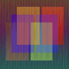 Carlos Cruz Diez✋🏾Artist Carlos Cruz-Diez✋🏼🖐🏽 More Pins Like This At FOSTERGINGER @ Pinterest✋🏾