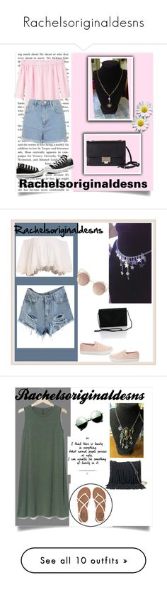 """""""Rachelsoriginaldesns"""" by nermina-cebic ❤ liked on Polyvore featuring MANGO, Topshop, Converse, Jimmy Choo, Steve Madden, Gap, Revo, Billabong, SONOMA Goods for Life and Alexander Wang"""
