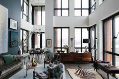 Inside, Interior Designer, Athena Calderone's Immaculate BK Pad