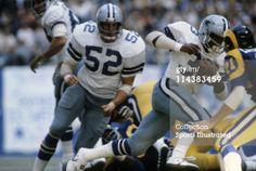 LOS ANGELES RAMS VS. DALLAS COWBOYS 1979 PLAYOFFS   News Photo: Playoffs Dallas Cowboys Tony Dorsett in action rushing…