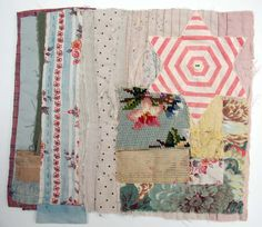 Textile artist Mandy Pattullo lives in Northumberland, England. Starting out by piecing together vintage quilts, needlework and f...