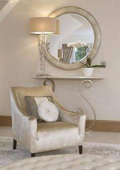 InStyle-D Beverly Hills Luxe Ivory Snake Leather Mirror Inspiring Interior Design Fans With Luxury Home Decor Ideas From Hollywood Enjoy & Happy Luxury Home Decor, Luxury Homes, Luxury Interior, Luxury Furniture, Modern Interior, Furniture Design, Interior Design Inspiration, Interior Ideas, Design Ideas