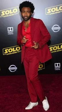 """""""The movie is called SOLO, but people have really focused on LANDO since the first trailer dropped,"""" says Shawn Edwards, co-founder of the African American Film Critics Association. """"Lando is the man! Lando Calrissian, Suki Waterhouse, Donald Glover, The Man, Star Wars, African, Stars, Film, People"""