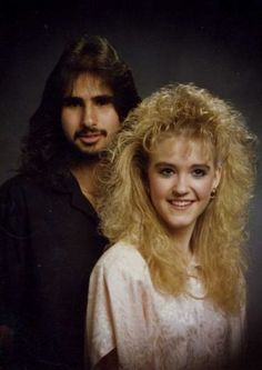 The 80's!! What a time to be selling hair mousse and perm solution