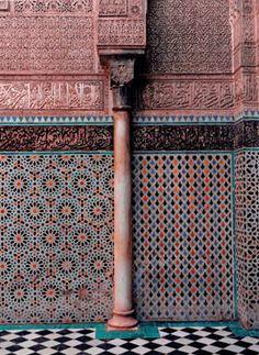 モロッコー2 建物編(ホテル・一般人のお家など) +写真追加マラケシュのガリアホテル - ポコアポコヤ
