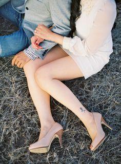 Love the heels.  Jose Villa | Fine Art Weddings