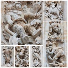catedral nueva of Salamanca astronaut, - Google Search