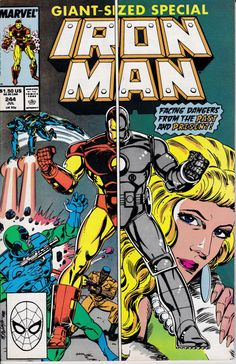 Iron Man 1968 1st Series 244 July 1989 Issue  by ViewObscura
