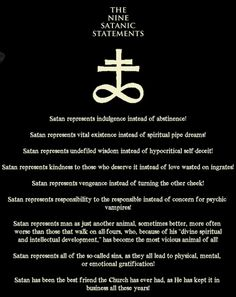 satanist - IN THE DARK