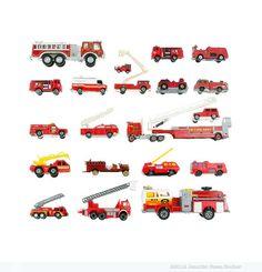 """Toy Firetrucks"" by Jennifer Booher"
