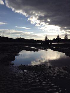 I took this picture of Orewa beach last week