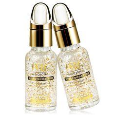 좋은 24 천개 순수 골드 호일 미백 보습 에센스 히알루 론산 액체 크림 무료 배송 날 Creams1pcs