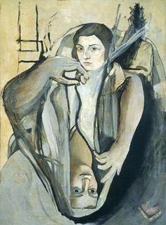 Retrato de mi hermana, Dali (1923), VINCULADO A RETRATO DE OLGA,DE PICASSO